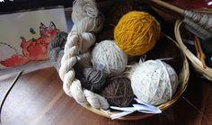 handspun yarn-love <3