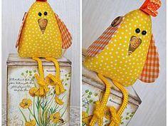 Шьем веселого пасхального цыпленка | Ярмарка Мастеров - ручная работа, handmade