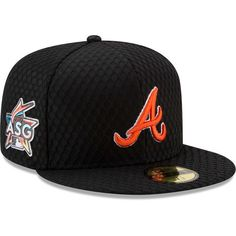 Men s Atlanta Braves New Era Black 2017 Home Run Derby Side Patch 59FIFTY  Fitted Hat a19bbb165ac