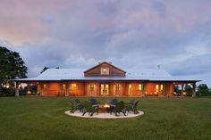 Timothy Benitz owns this vacation home on nearly 45 acres in Okeechobee, Fla. He purchased the land where the home was built through a lim...