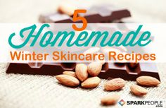 Take care of your skin & hair this winter with these recipes from the kitchen! | via @SparkPeople #food #beauty