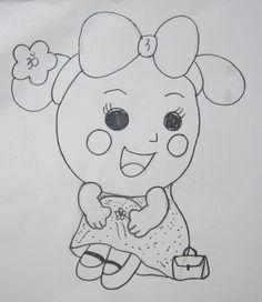 Fan Art of Miss La Sen for fans of Miss La Sen lucky doll. Miss La Sen