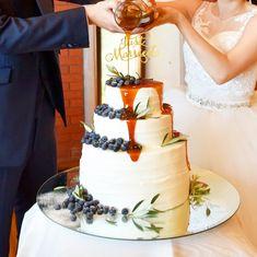 ウエディングケーキとしても人気!つやつやたらーり「 #ドリップケーキ 」がおしゃれ|おうちごはん