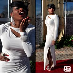 FANTASIA BARRINO red carpet style...