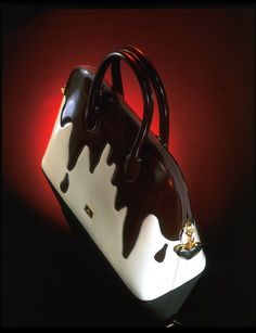 Handbag with shoulder strap, Moschino, 1996