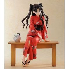 Fate/Stay Night Statuette Pvc 1/8 Rin Tohsaka: Yukata Ver. 17 Cm