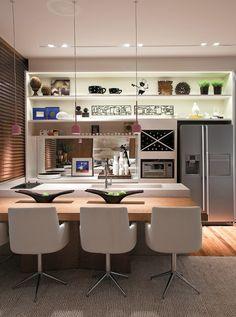 Cozinha gourmet11 14 Cozinhas Gourmet - Integradas com a Sala Cozinha gourmet11