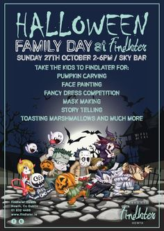 Halloween Family Day at Findlater #halloween #familyday #kids #howth