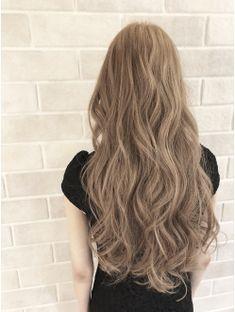 Blonde Hair Korean, Korean Long Hair, Korean Hair Color, Brown Blonde Hair, Hair Lights, Light Hair, Medium Hair Styles, Curly Hair Styles, Shot Hair Styles