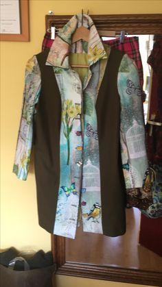 Selfmade zomerjas eindelijk klaar om naar buiten te gaan