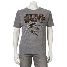 Star Wars spacecraft tee.
