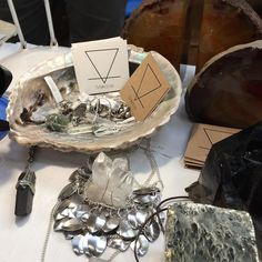 Today at the #Bakewell #fossil show! Come and say hello  #gem #rock #necklace #gemstonering #stones #ring #jewellery #crystals #crystal #pyrite #beautiful