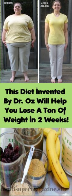 This Diet Invented By Dr. Oz Will Help You Lose A Ton Of Weight In 2 Weeks! – Multi Super Magazine