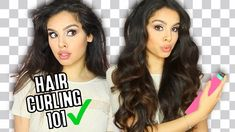 How to Curl Your Hair With A Curling Iron To Get Big, Bouncy, Voluminous Hair Second Day Hairstyles, Curled Hairstyles, Easy Hairstyles, Straight Hairstyles, Amazing Hairstyles, Soft Curls, Loose Curls, Hair Curling Tips, Ribbon Curls