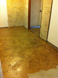 Brown paper bag floors.