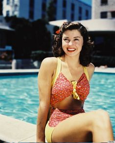 R.I.P. Esther Williams ... I'll honor your memory all summer long ♡