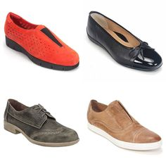 Today we're featuring transitional shoes; these are shoes that you can wear right now while the weather vacillates between 40-70 degrees. Starting from the top left going clockwise we have Clark's Daelyn Summit $100 Ara Bella $165 All Black Cowman $139 and the Naot Lako $196. All of these can be worn right now and are available for purchase right now in store and on Simonsshoes.com #shoes #winter #spring #warm #cool #shoping #fashion #style #instashoes #comfy #walkingshoes @clarksshoes…