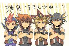 Tags: Yu-Gi-Oh!, Yami Yugi, Yu-Gi-Oh 5Ds, Pixiv, Yu-Gi-Oh! GX, Yusei Fudo, Juudai Yuuki, Yu-Gi-Oh! ZEXAL, Studio Gallop, Yuma Tsukumo, Yu-Gi...