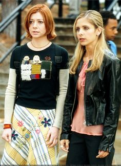 Willow and Buffy -- Buffy the Vampire Slayer