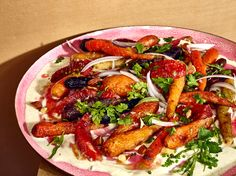 NYT Cooking: Ludo Lefebvre's Roasted-Carrot Salad