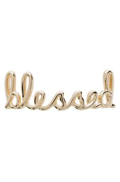 Gratitude for the gifts you have fills your heart with joy. Wear this as a reminder of how truly blessed you are.