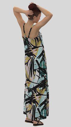 #CLO3D, #Virtualfashion, #DAZ3D, #Zeroinventoryfashion, #manufactureondemand, #madeondemand Chiffon Fabric, Chiffon Dress, Virtual Fashion, Brush Strokes, Creative Design, Cami, Wrap Dress, Aqua, Color