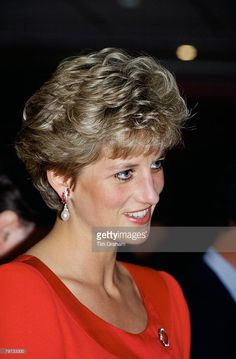 Princess Diana in Seville, Spain