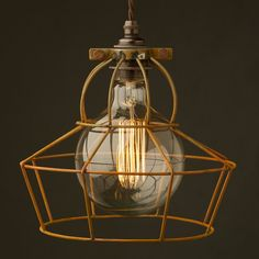 UFO-shaped-rusted-cage-pendant-large-round