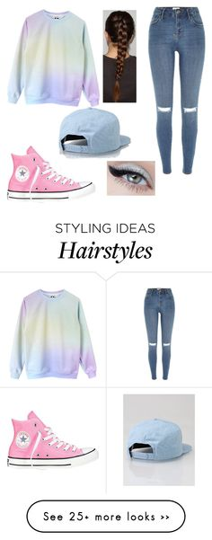 """Senza titolo #48"" by sharon19423751 on Polyvore featuring River Island, Converse and Lakai"
