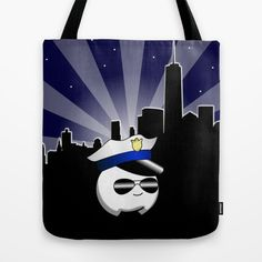 Cop Cumi Tote Bag by goatgames Goat Games, Indie Games, Goats, Reusable Tote Bags, Goat