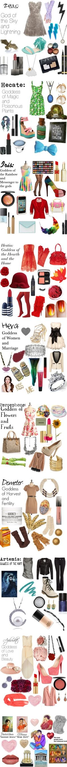 """Percy Jackson/Greek Gods And Goddesses"" by fandomly-yours ❤ liked on Polyvore"