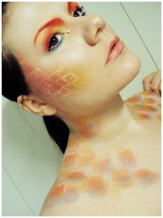 Goldfish make up tutorial by ~Ane-ue on deviantART