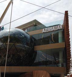 #azerbaijan #pavilion #expo2015 #milan
