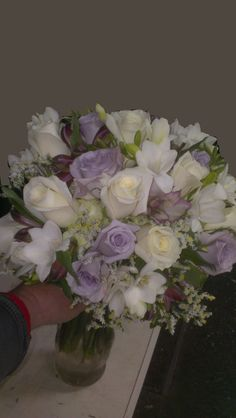 Now this is a wedding bouquet! America's Florist will make every arrangement special just for you. Just tell us a little about your colors and we will start designing! americasflorist.com