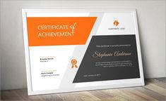 11 best Best Certificate Templates images on Pinterest in 2018     100  Amazing Photo Realistic Certificate Templates