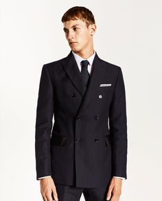 DOUBLE BREASTED SUIT from Zara