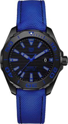 TAG Heuer Aquaracer 300 M Calibre 5 Black Titanium - Новая версия дайверских часов ТЭГ Хойер | Luxurious Watches