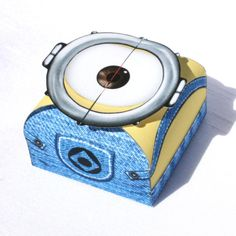 Despicable Me 2 - Inspired Minion Gift Box (Instant Download) on Etsy, $3.00