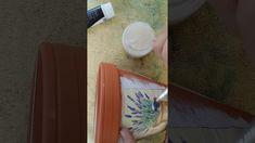 How to do Serviette/Napkin Decoupage on a Terracotta Pot Napkin Decoupage, Terracotta Pots, Napkins, Plants, Terracotta Plant Pots, Towels, Napkin, Flora, Plant