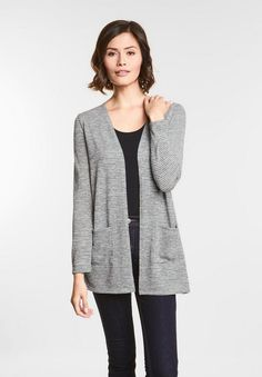 Women s Long Sleeve Relaxed Open Layering -...   Target  a31d177f3