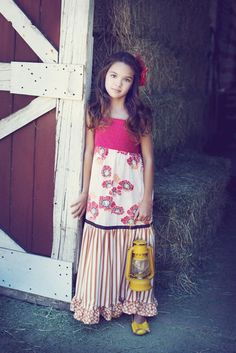 Persnickety Poppies Dress  {inspiration}