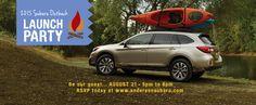 2015 Subaru Launch Event at Anderson Subaru of Pensacola