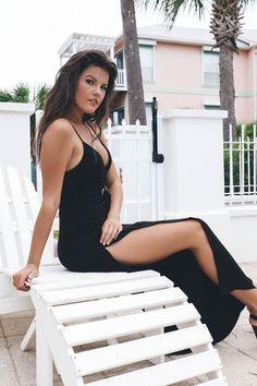 Wonderful Compliments Black Jumpsuit