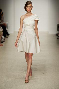 "Amsale Little White Dress ""Darby"""