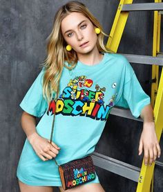 Moschino Sweater and Bag
