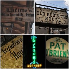A Visit to New Orleans - the Vintage Bar Scene - Kitchy Cooking
