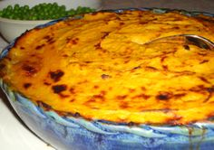 Shepherd's Pie with a Sweet Potato and Parsnip topping