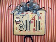 4th of July - Cross Stitch Patterns & Kits - 123Stitch.com Lil July 4th - Cross Stitch Pattern by Sunflower Seed