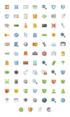 Free Design Resources: Icons and Polygon Backgrounds