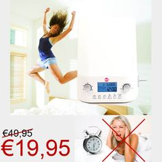 WOW Wake-up light voor €19,95! www.euro2deal.nl
